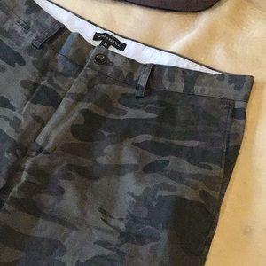 Camo Bermuda Shorts!